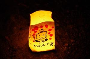 子供達の灯明