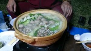 寒いから鍋